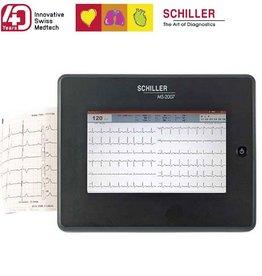 Medische Vakhandel Schiller EKG MS-2010 + Zubehör und Interpretationssoftware