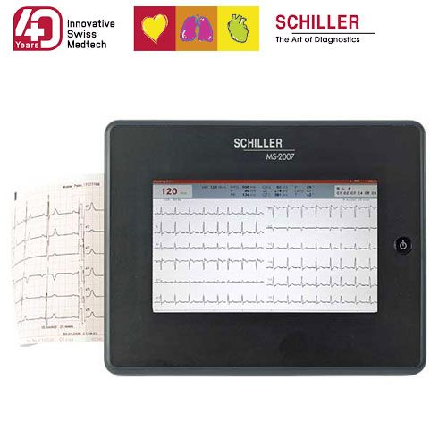 Schiller ECG MS 2010 + accessoires en interpretatiesoftware