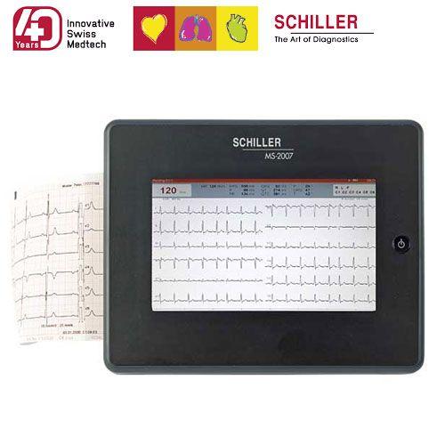 Schiller EKG MS-2010 + Zubehör und Interpretationssoftware