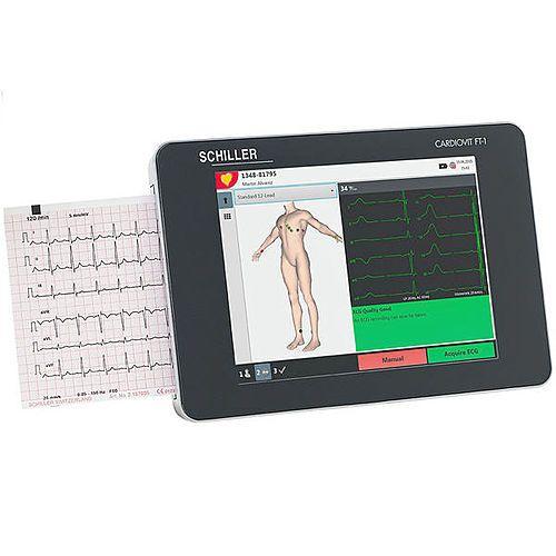 Schiller  ECG monitor Cardiovit FT-1 met interpretatie software