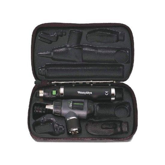 Welch Allyn Macroview LED Otoskop mit Griff und Ladegerät