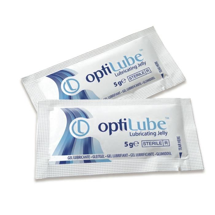 Optilube catheter gel sachet - 5 grams (substitute for Instillagel)