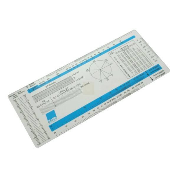 ECG ruler KaWe