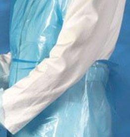 Mediware Mediware Einmal-Schürzen, 125 cm, blau, 100 Stück
