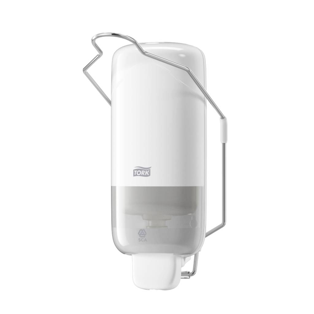 Tork soap dispenser with lever - Elevation - 1 liter