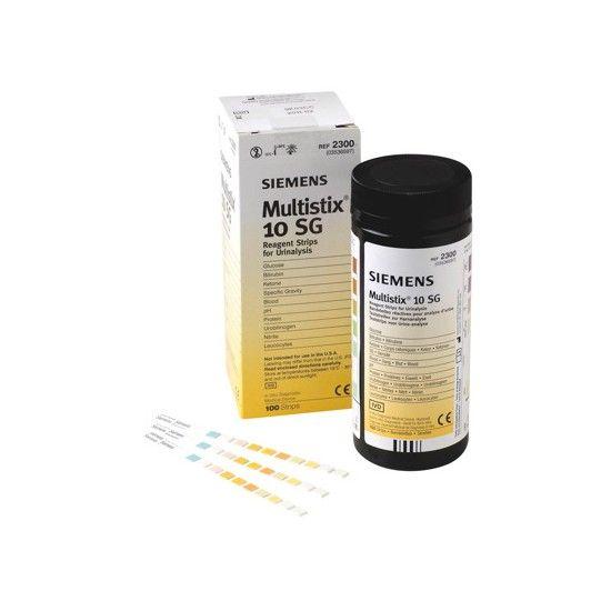 Bayer / Siemens Multistix 10 SG 100 stuks geschikt voor Clinitek analyser van Bayer