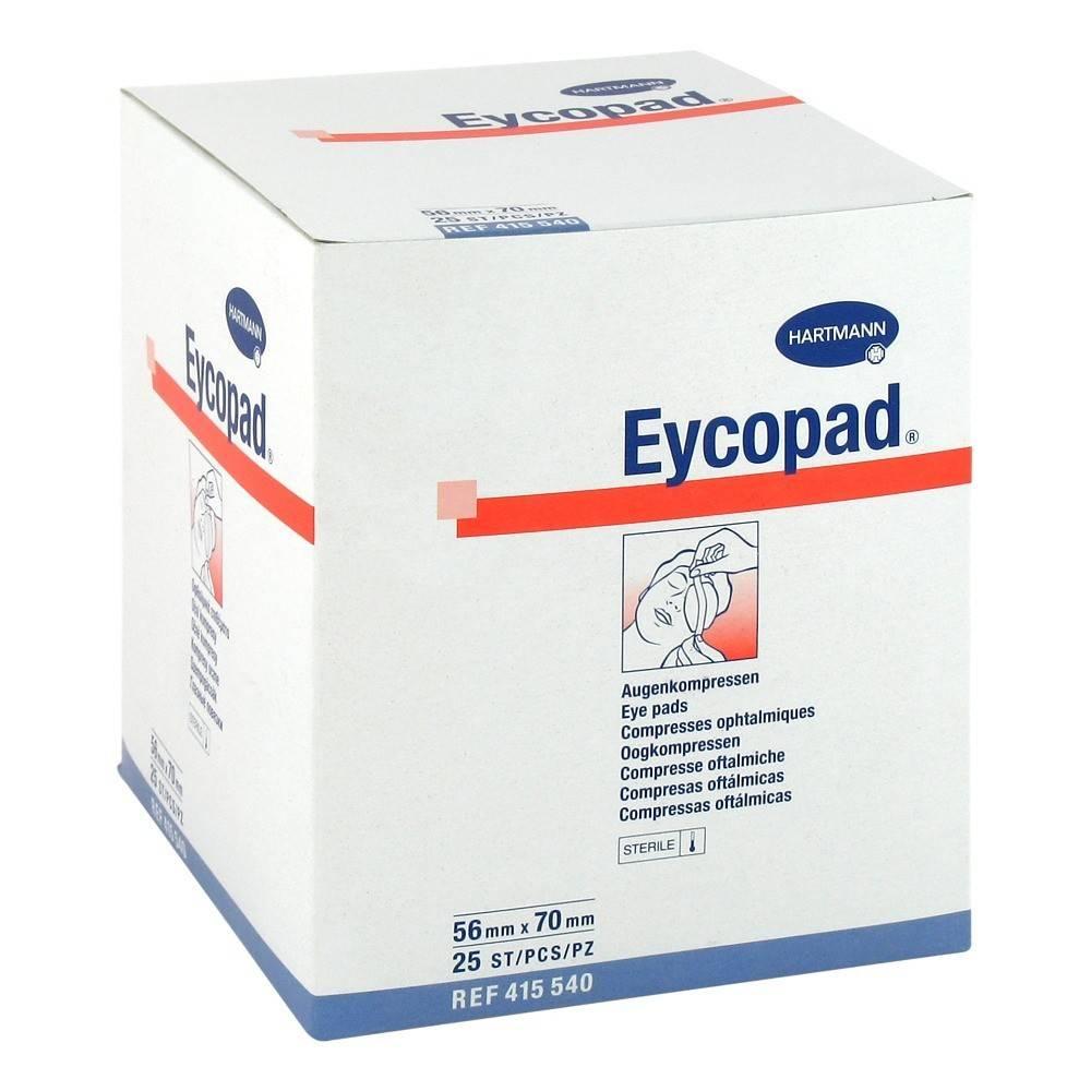Eycopad® eye compresses 56 x 70 mm sterile 25 pieces