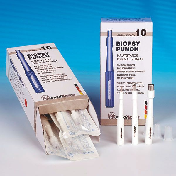 Mediware huidstans steriel disposable 3,5 mm 10 stuks