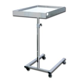 Medische Vakhandel Stainless steel instrument table - Mayo, U-shaped