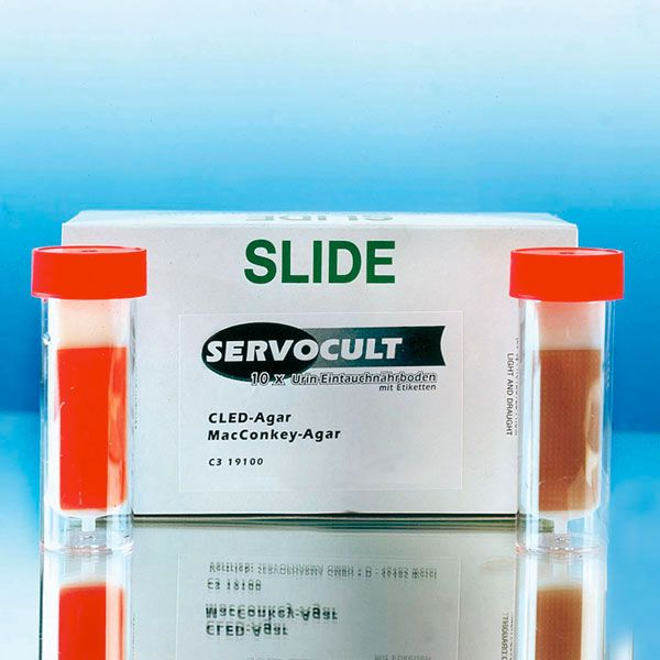 Servotube M, 3-fach Urinnährboden