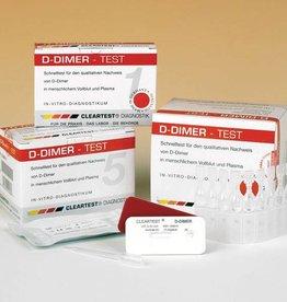 Medische Vakhandel Cleartest® D-dimer, 10 tests