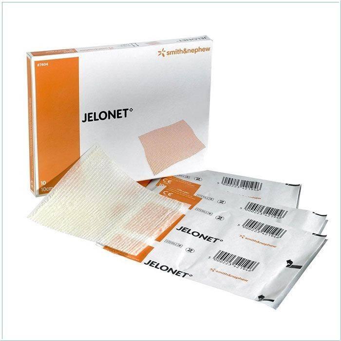 Jelonet ointment gauze - 5 x 5 cm - 50 pieces