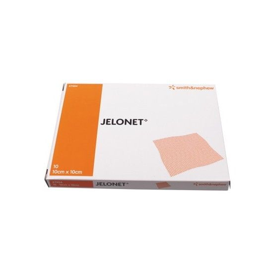 Jelonet ointment gauze - 10 x 10 cm - 10 pieces