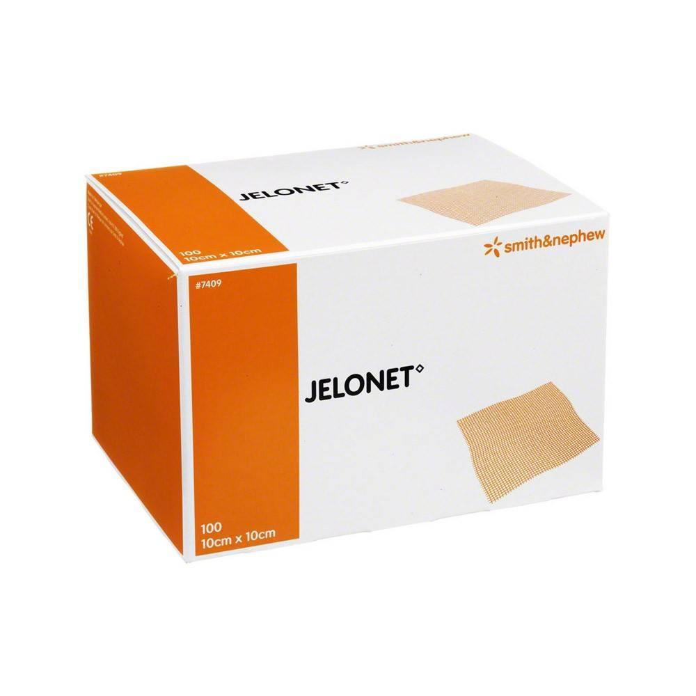 Jelonet ointment gauze - 10 x 10 cm - 100 pieces