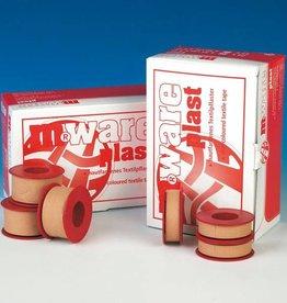 Medische Vakhandel M.ware Plast, plaster tape - 2,50 cm x 5 m - 12 pieces