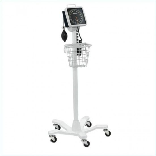 Welch Allyn 767 blood pressure monitor with caster base