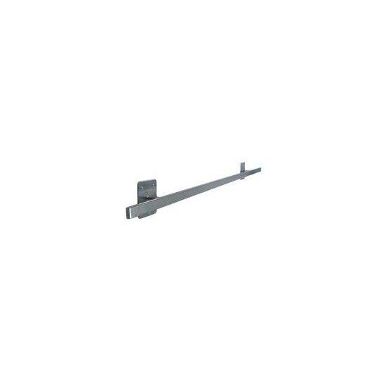 Wandrail RVS 1,5 mtr, voor Heine, Welch Allyn Lampen
