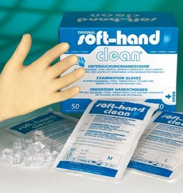 Medische Vakhandel Soft-Hand - clean - small - sterile - 50 pieces In pairs, sterile packed