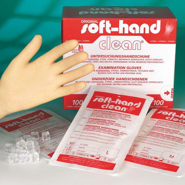 Soft Hand Clean, medium, steril, 100 Stück pro Stück verpackt