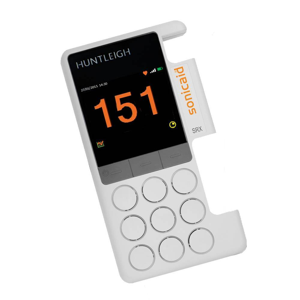 Huntleigh vasculaire obstetrische doppler Sonicaid SRX-R exclusief probe inclusief oplaadbare batterijen