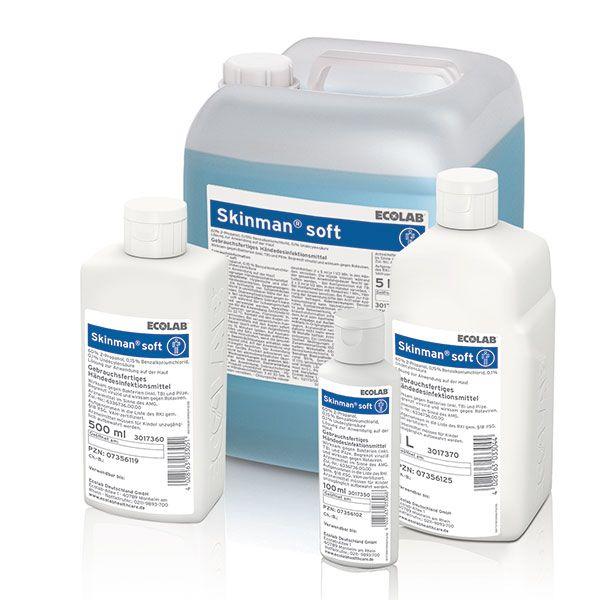 Ecolab Skinman Soft handdesinfectans