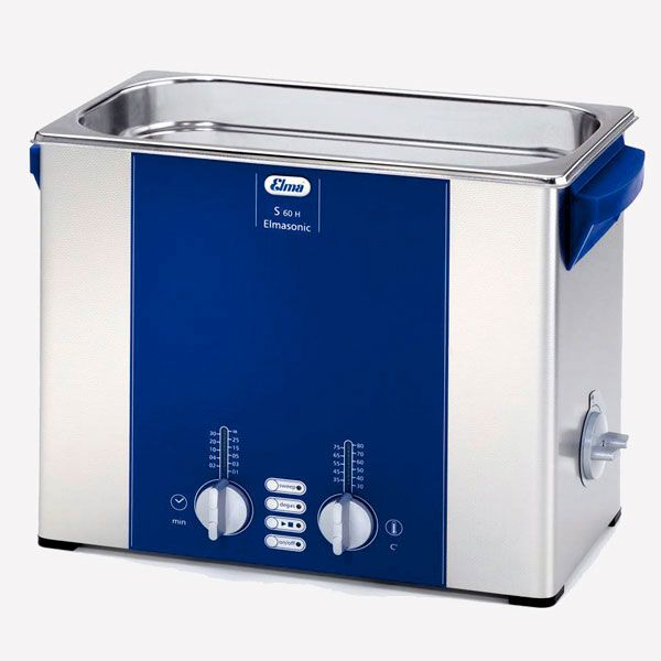 Elma ultrasonic cleaner - model S60H - with heating - 5.75 L