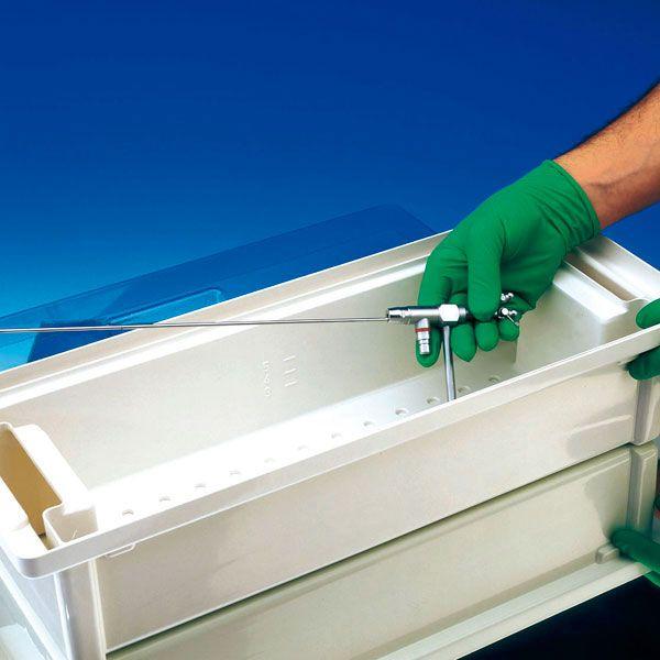 Instrument desinfectiebak inhoud 3 liter - 300 x 200 x 110 mm