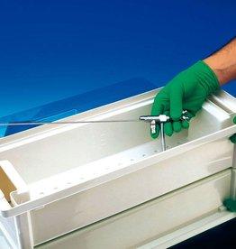 Medische Vakhandel Instrument disinfection tank - 4 liters - 340 x 210 x 120 mm