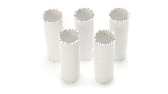 Spirometer mouthpieces - 30 mm x 6.6 cm - 100 pieces
