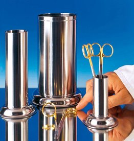 Medische Vakhandel Instrument cylinder for long forceps - 50 mm Ø x 130 mm