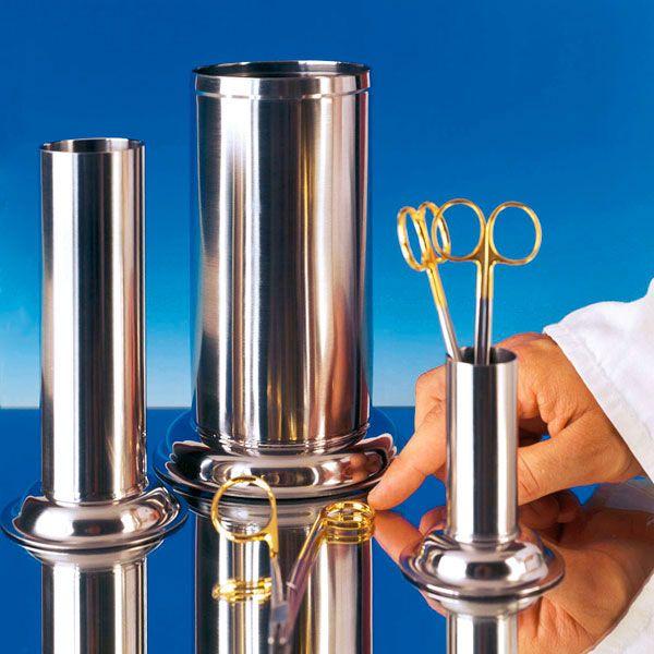 Instrument cilinder voor lange pincet, 80 mm Ø x 180 mm