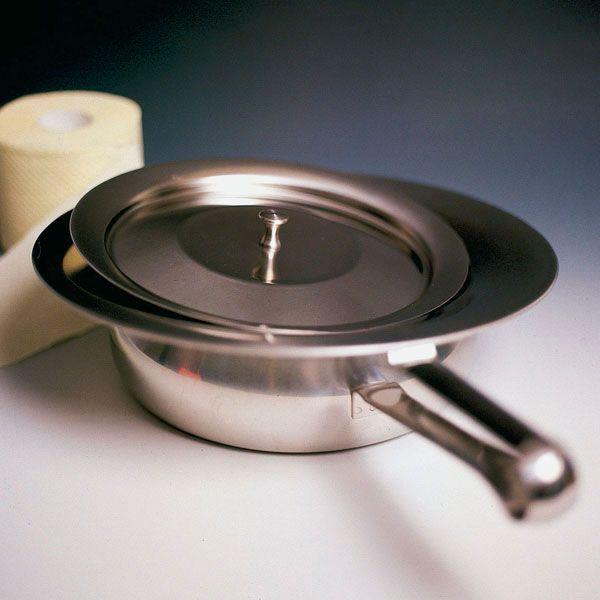 Bedpan - stainless steel