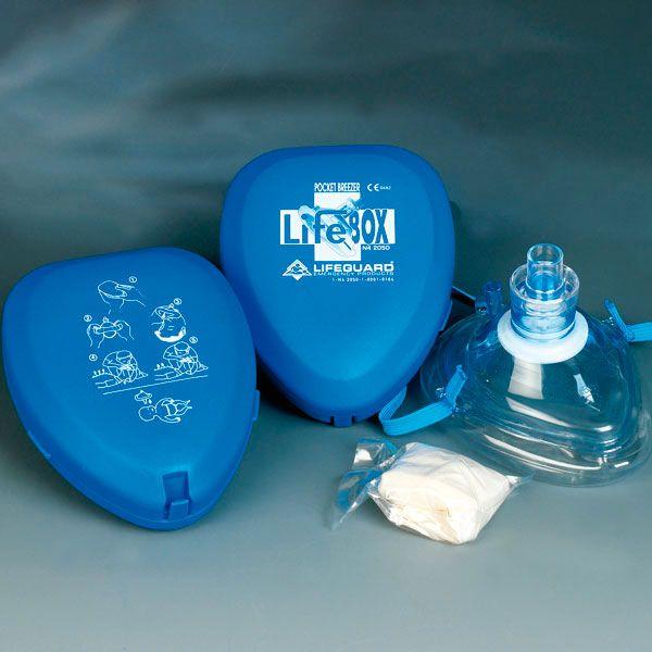 Pocket-Breezer Rescue Mask beademingsmasker