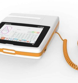 MIR Spirolab desktop spirometer with oximeter and a 7 inch touchscreen