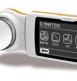 MIR Spirodoc Spirometer met oximeter + looptest O2 + 24 uurs O2 en pols + slaapanalyse bij OSAS (slaap apnoe)