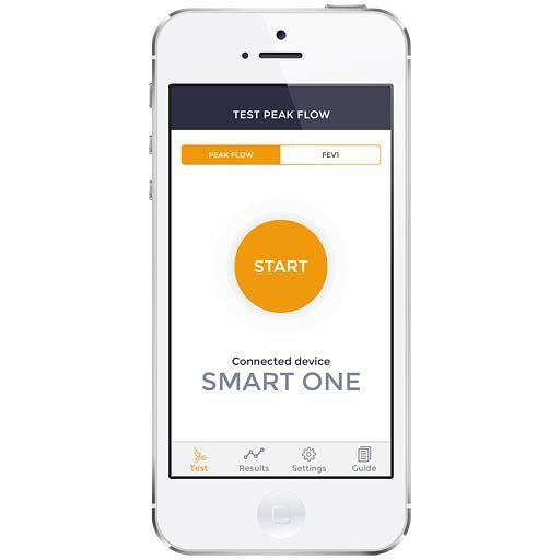 Smart One® Spirometer, Peak Flow Meter jetzt auf Ihrem Smartphone für Ihr Asthma