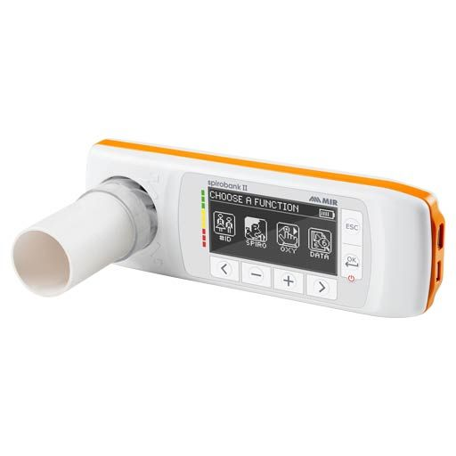 Spirobank II Spirometers MIR mit Oximeter