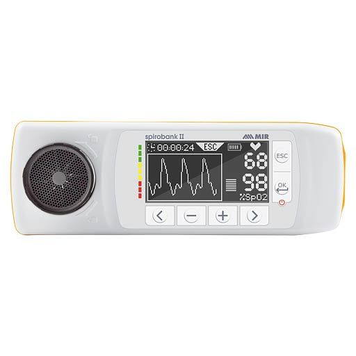 Spirobank II Spirometer Advanced MIR + oximeter