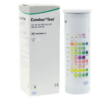 Combur 9-Test - 100 pieces