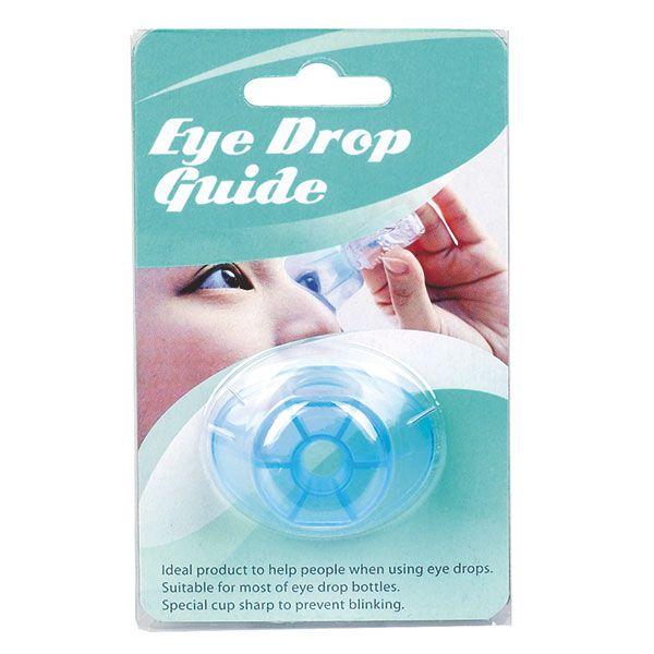 Eye drop guide
