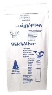 Oortips Welch Allyn disposable otoscoop 4,25 mm volwassenen