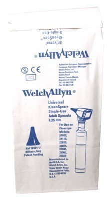 Welch Allyn disposable otoscope ear tips - 4.25 mm - adults