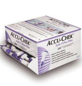 Medische Vakhandel Accu Chek Safe-T-Pro Plus lancetten 200 stuks