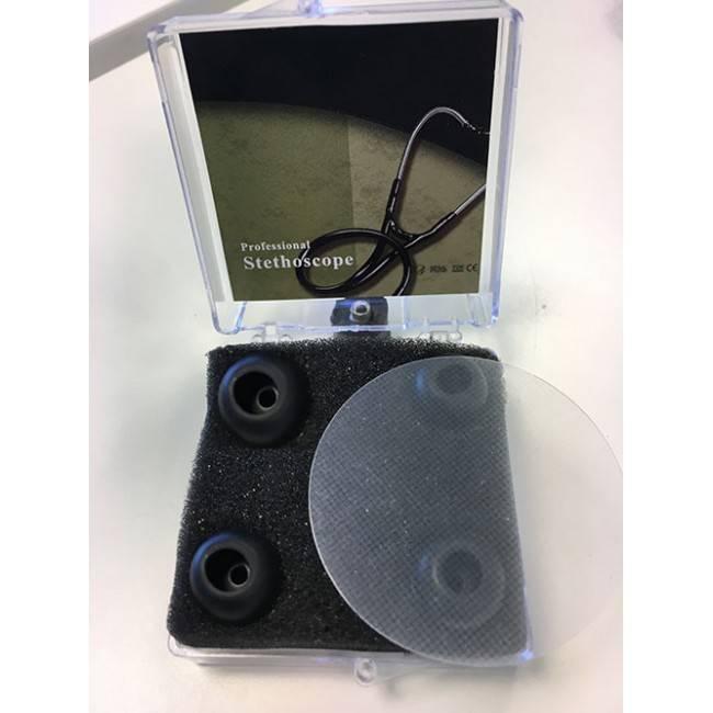 Oortips met membraan voor stethoscoop