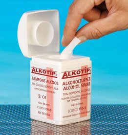 Medische Vakhandel Alkotip alcohol dispenser - 155 pads