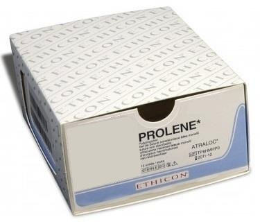 Prolene Blu 45cm m1,5 usp 4/0 8682H 36x1