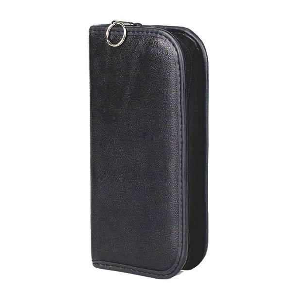 Ampoule case - leather