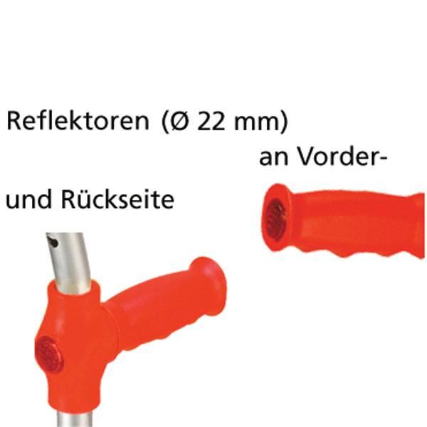 Colourful forearm crutch for children
