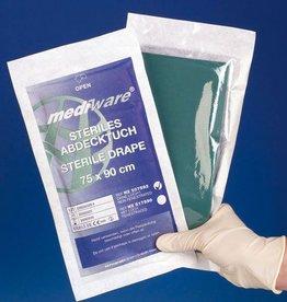 Mediware Mediware Steriles Abdecktuch mit Loch Ø 5 cm, 75 x 90 cm, 30 + 1 Stück