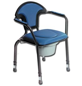GIMA Commode chair - comfort - adjustable height